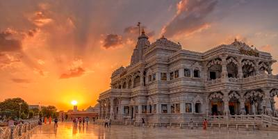 1 Day Delhi to Mathura & Vrindavan Tour by Private Cab
